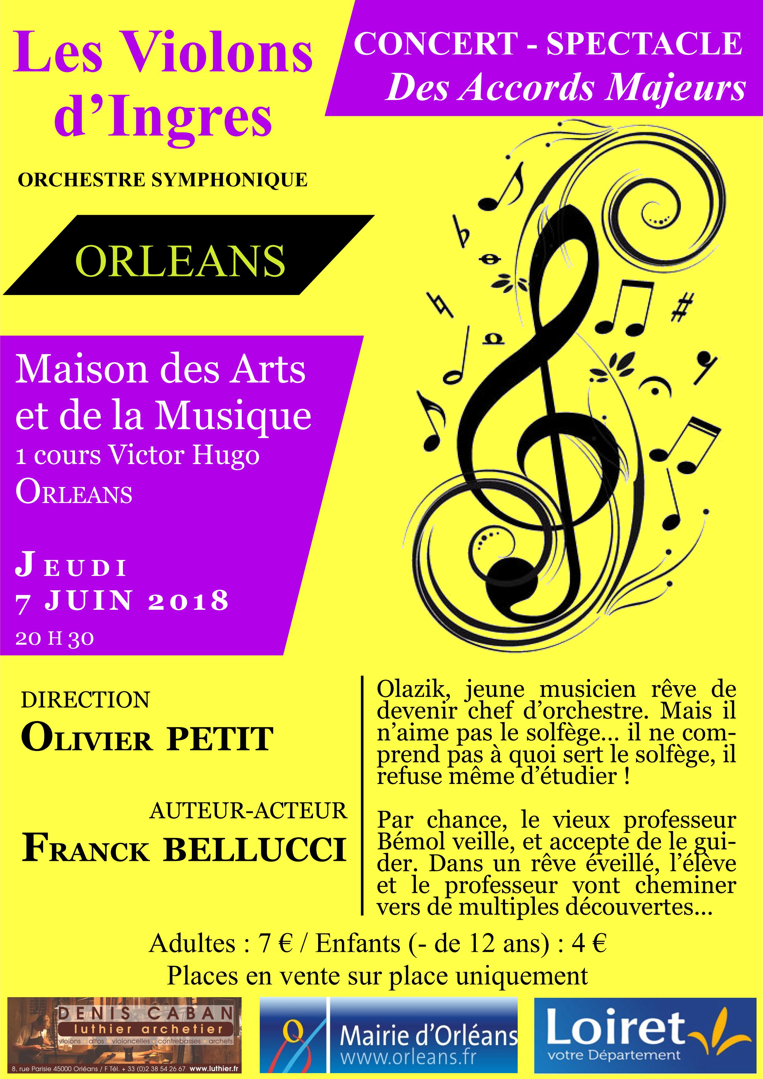 Affiche concert du 7 juin